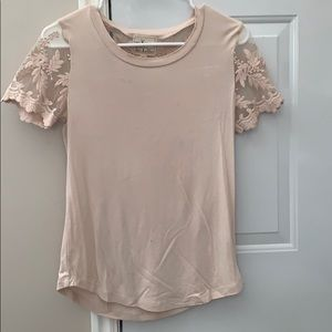 Tops - Soft pink top